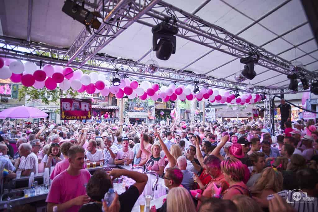 Kermis 2019 Tilburg. Roze maandag.