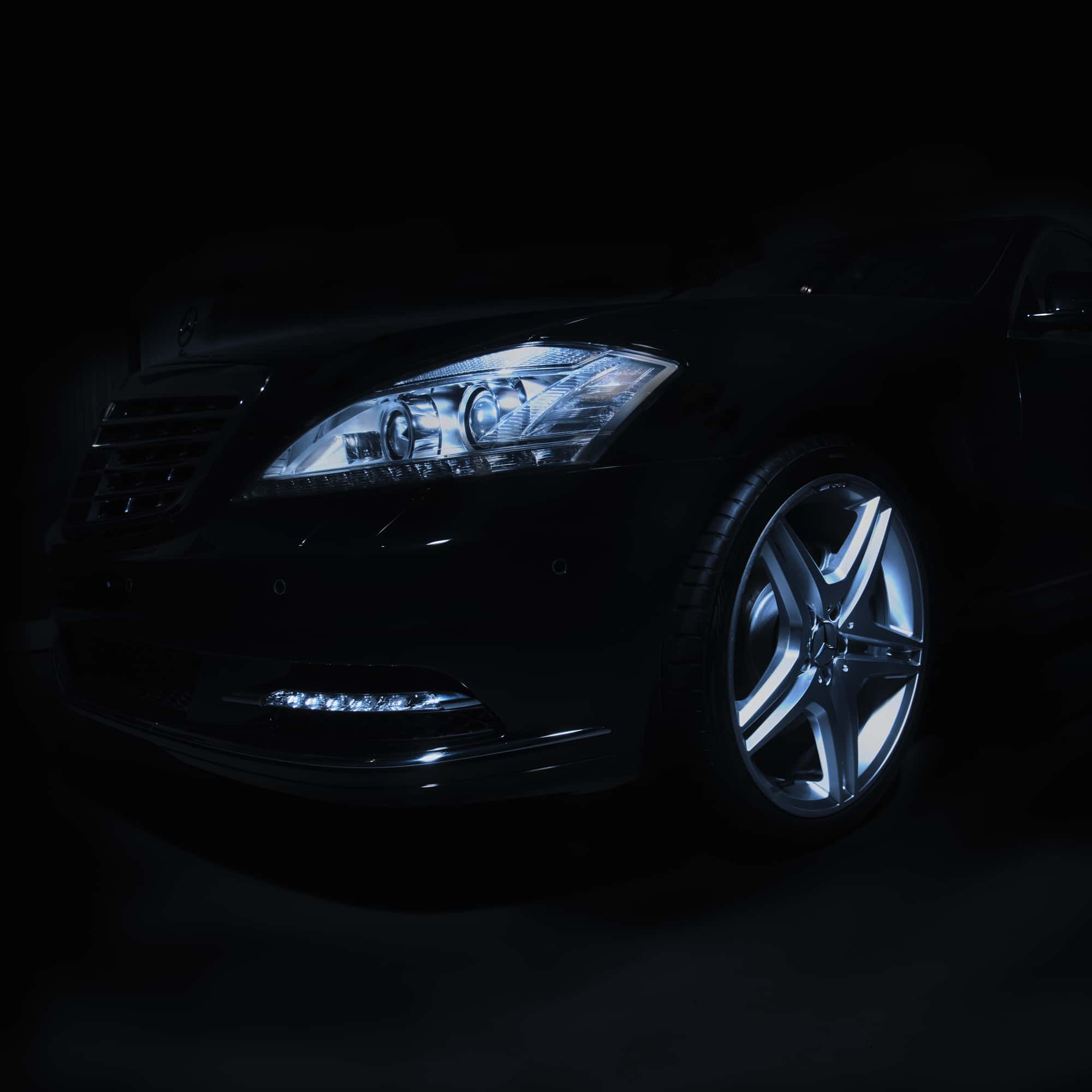 Mercedes, Lightpainting